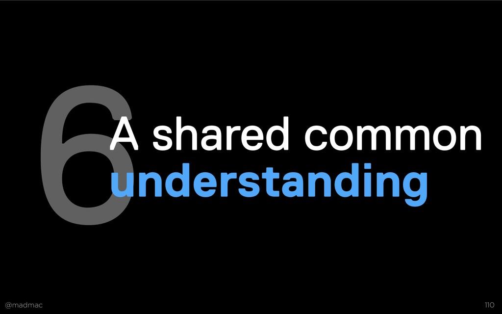 @madmac 110 6A shared common understanding Deve...