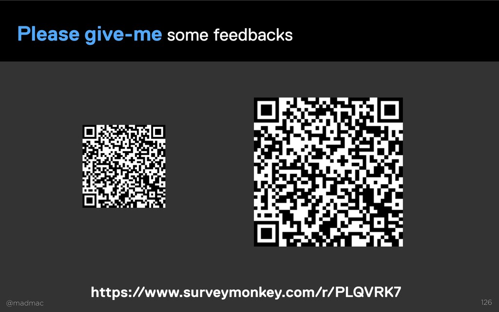 @madmac 126 Please give-me some feedbacks https...