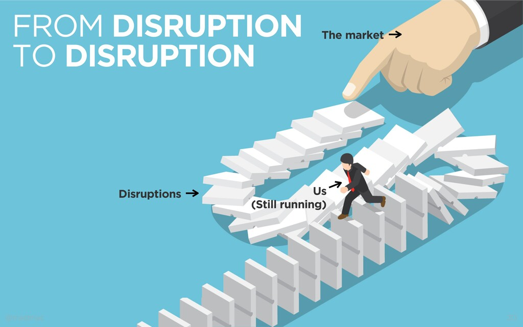 @madmac 30 FROM DISRUPTION TO DISRUPTION Us (St...