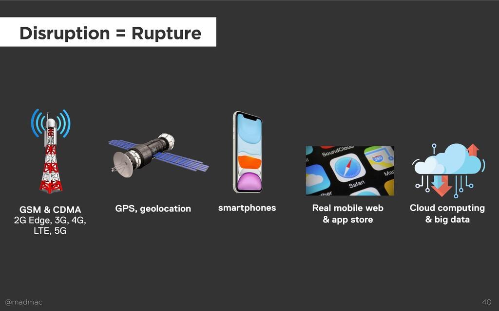 @madmac 40 smartphones Disruption = Rupture Rea...