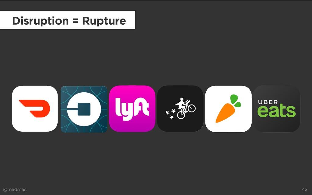 @madmac 42 Disruption = Rupture