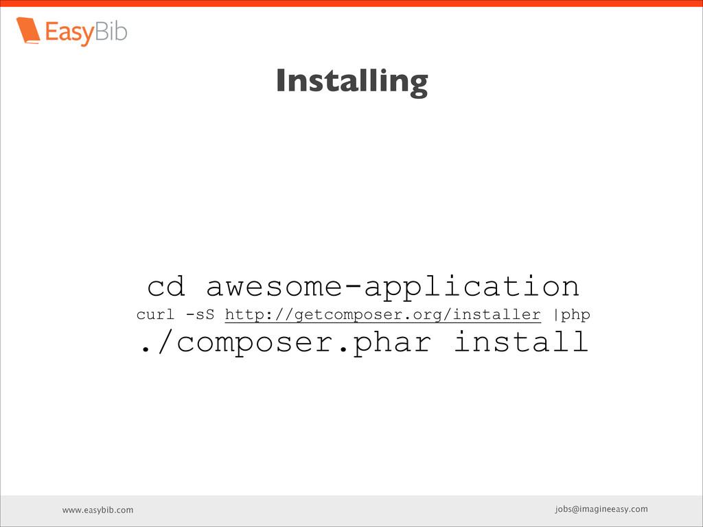 www.easybib.com jobs@imagineeasy.com Installing...