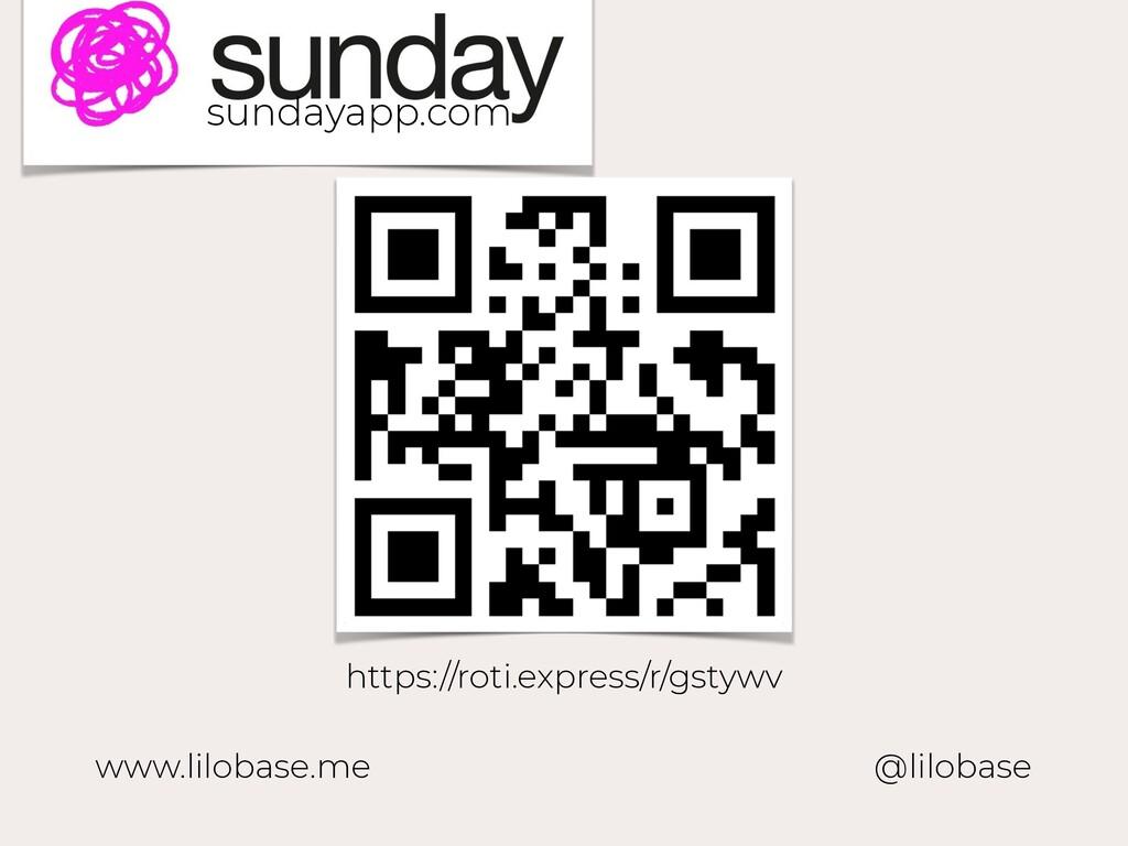 www.lilobase.me @lilobase https://roti.express/...