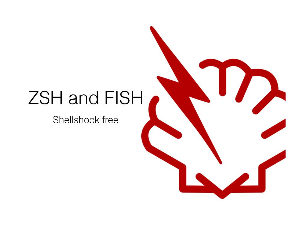 ZSH and FISH Shellshock free