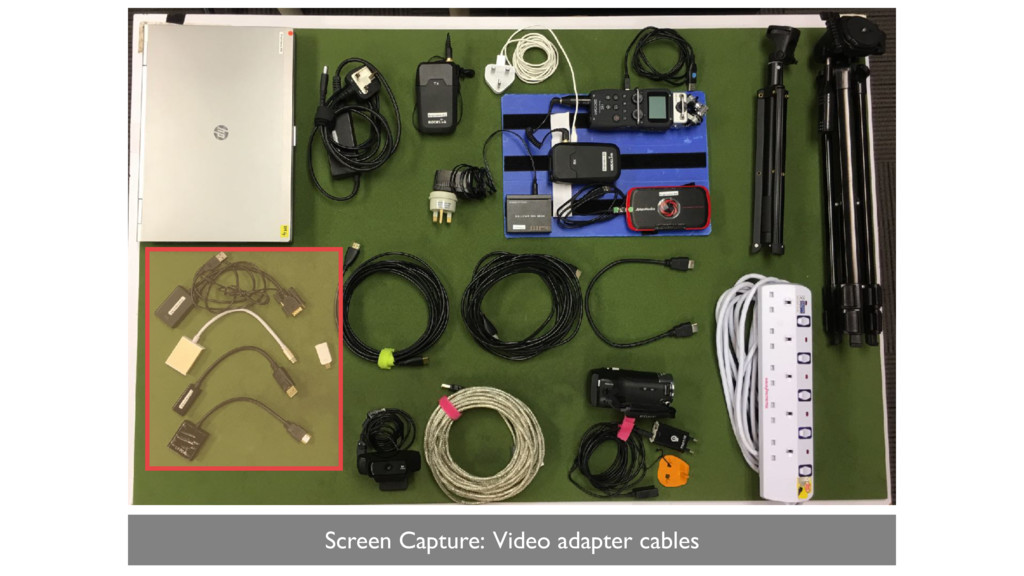 Screen Capture: Video adapter cables
