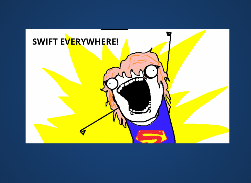 SWIFT EVERYWHERE!