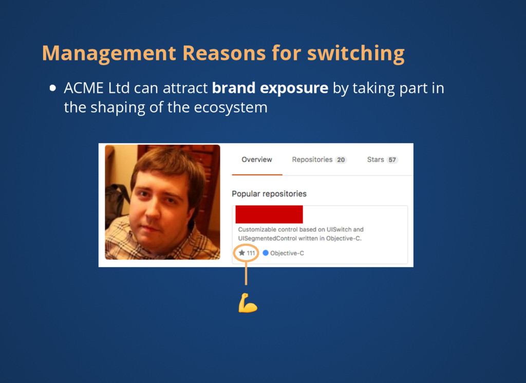 Management Reasons for switching ACME Ltd can a...