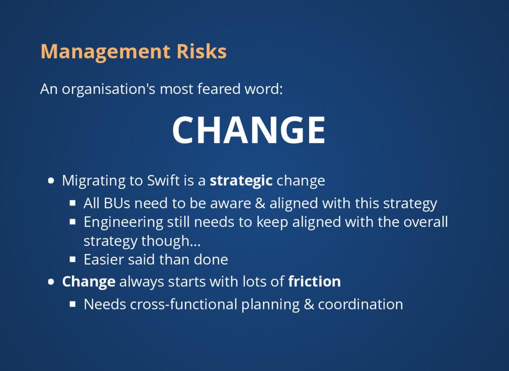 Management Risks An organisation's most feared ...