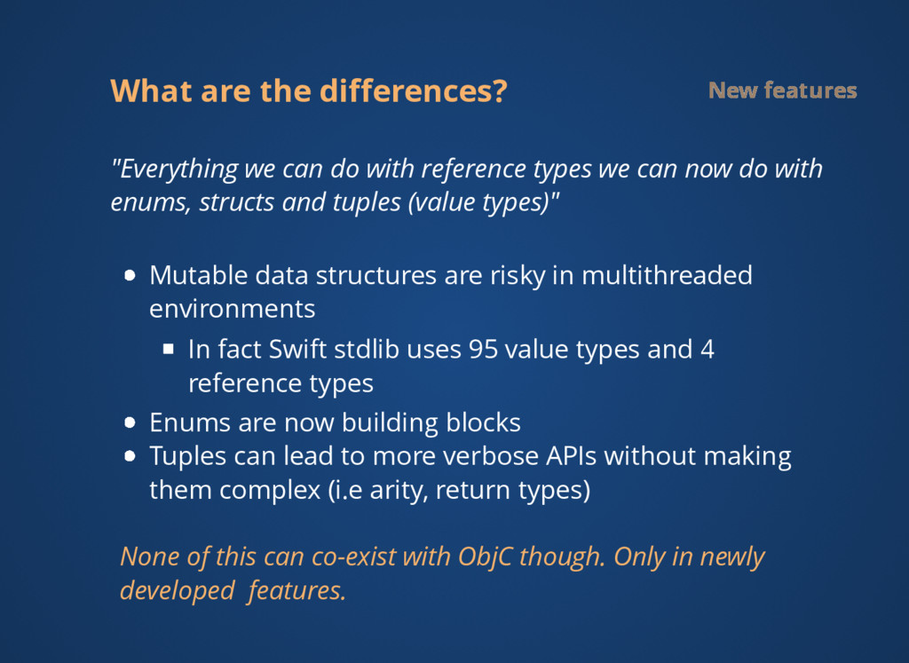 """What are the differences? New features """"Everythi..."""