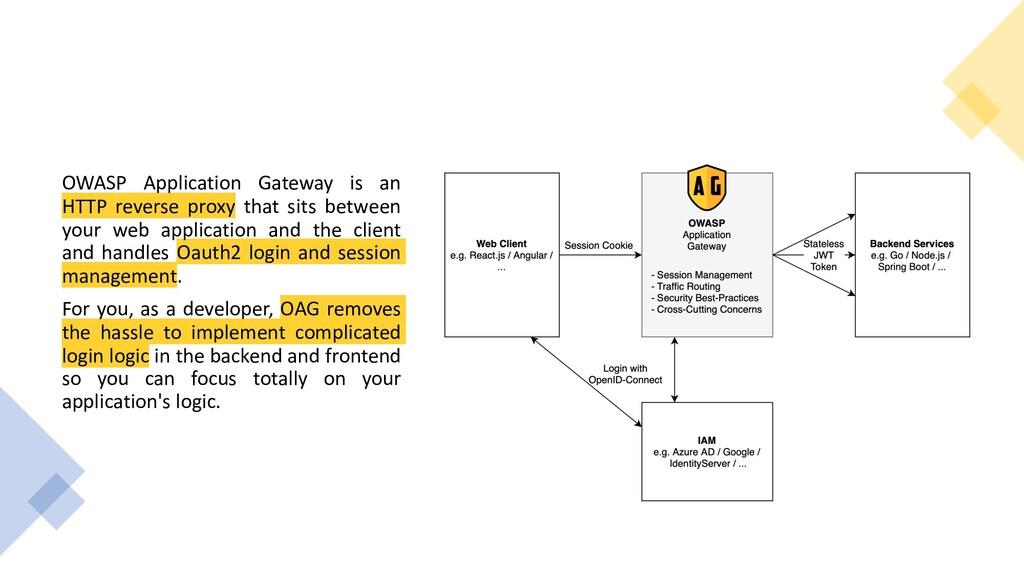 OWASP Application Gateway is an HTTP reverse pr...