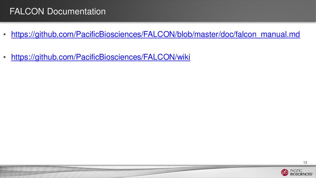 FALCON Documentation • https://github.com/Pacif...