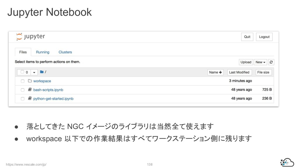 https://www.rescale.com/jp/ 138 Jupyter Noteboo...