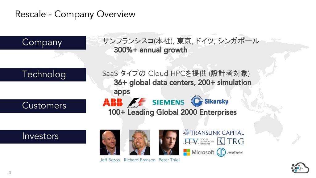 サンフランシスコ(本社), 東京, ドイツ, シンガポール 300%+ annual grow...