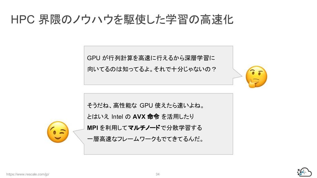 https://www.rescale.com/jp/ 34 HPC 界隈のノウハウを駆使した...