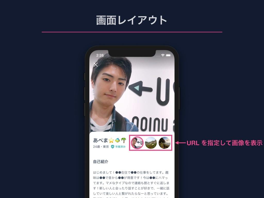 ը໘ϨΠΞτ URL Λࢦఆͯ͠ը૾Λදࣔ