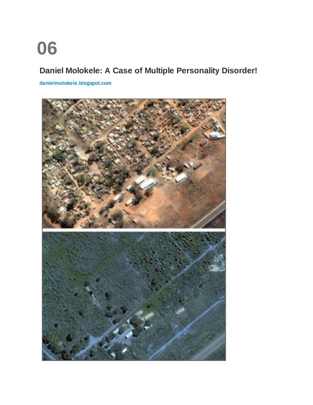 06 Daniel Molokele: A Case of Multiple Personal...