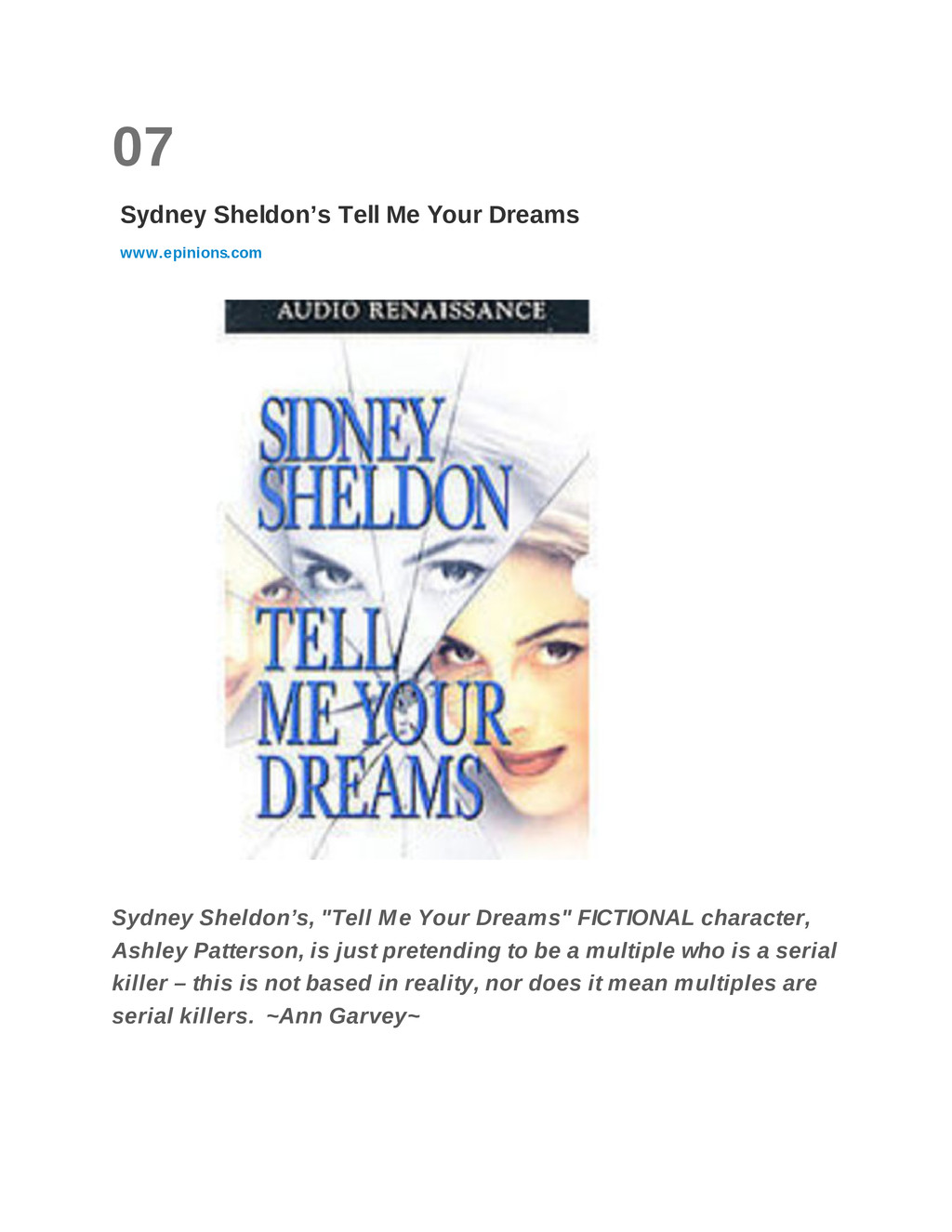 07 Sydney Sheldon's Tell Me Your Dreams www.epi...