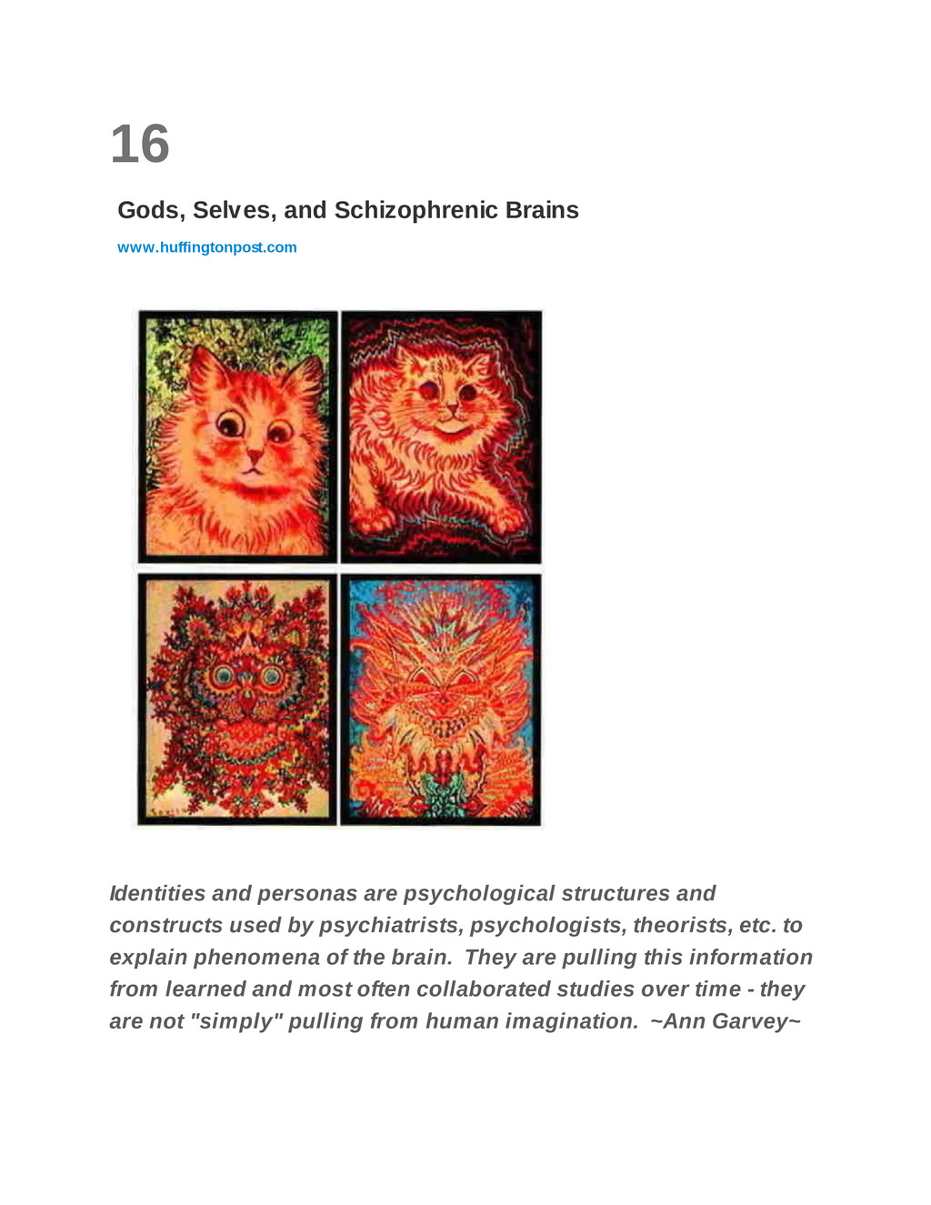16 Gods, Selves, and Schizophrenic Brains www.h...