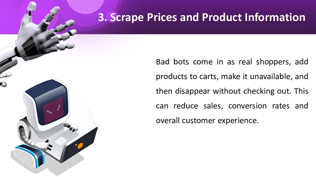 3. Scrape Prices and Product Information Bad bo...