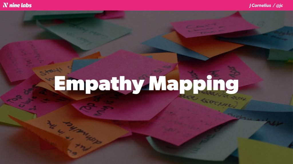 J Cornelius / @jc Empathy Mapping