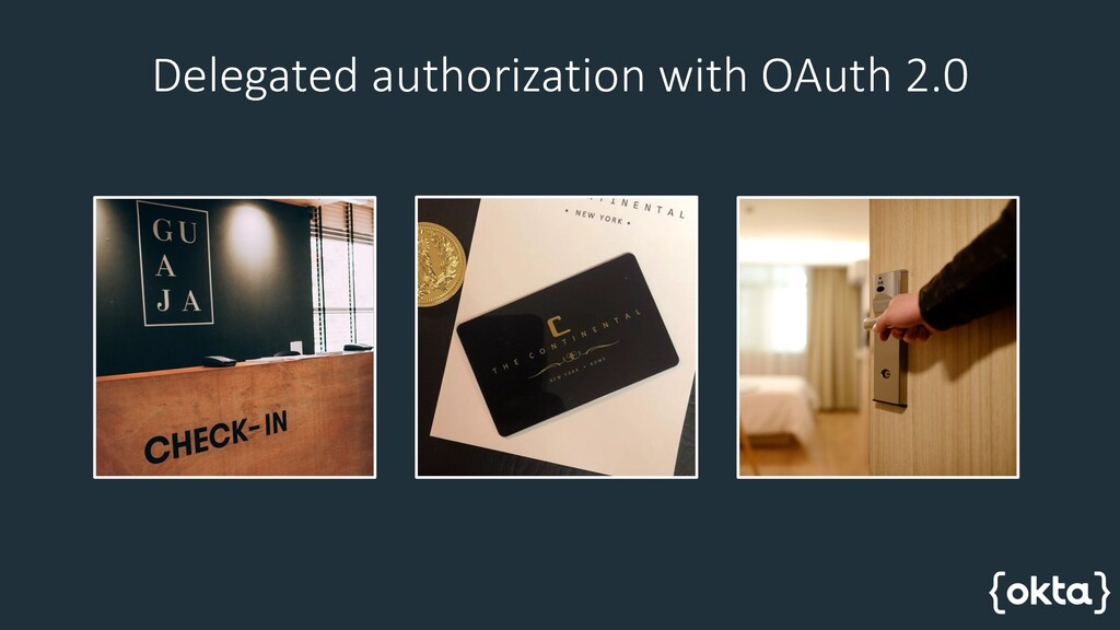 Delegated authorization with OAuth 2.0