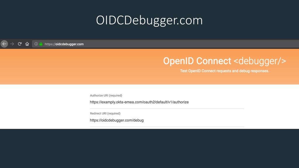 OIDCDebugger.com