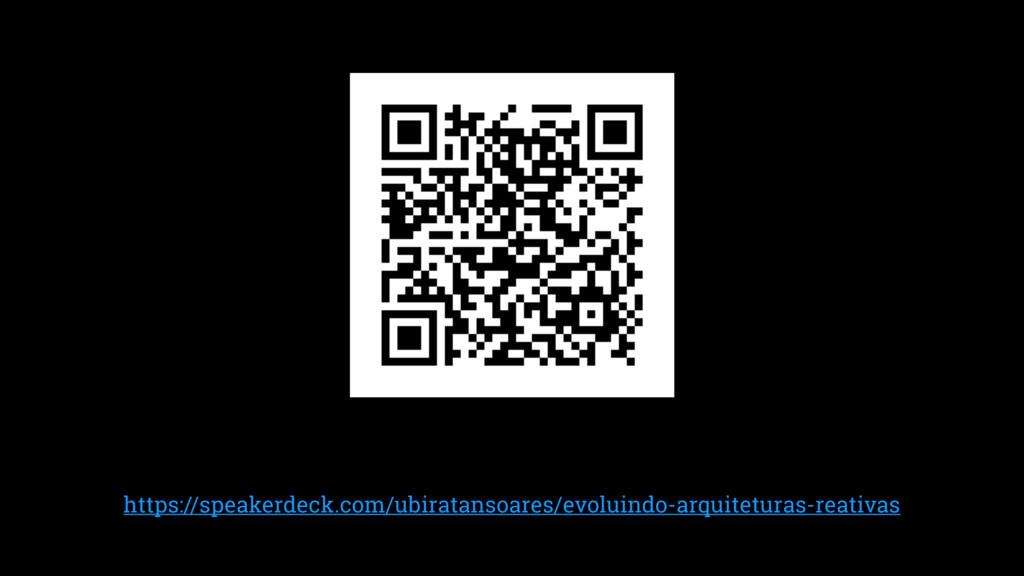 https://speakerdeck.com/ubiratansoares/evoluind...