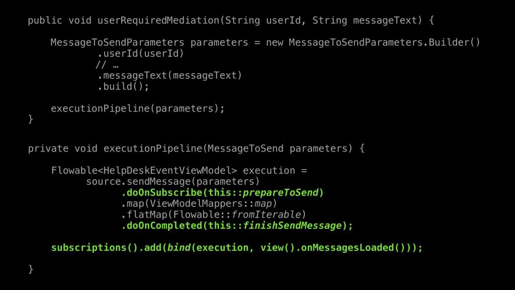 public void userRequiredMediation(String userId...
