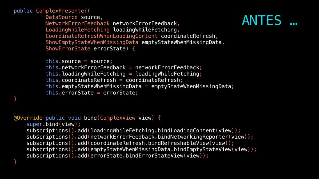 public ComplexPresenter( DataSource source, Net...