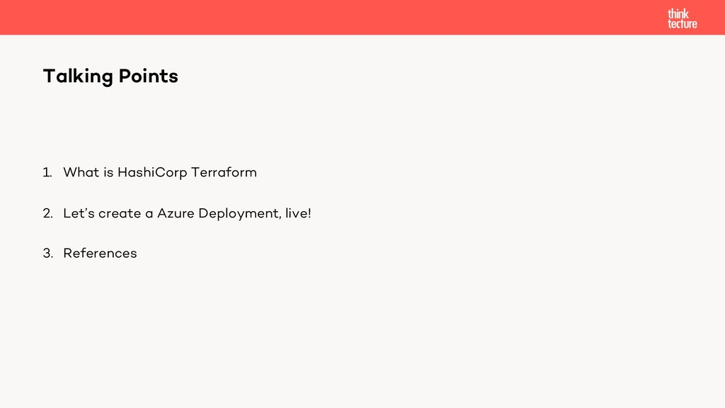1. What is HashiCorp Terraform 2. Let's create ...