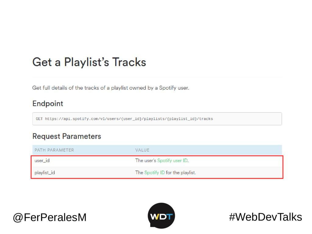 #WebDevTalks @FerPeralesM