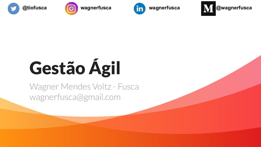 Gestão Ágil Wagner Mendes Voltz - Fusca wagnerf...