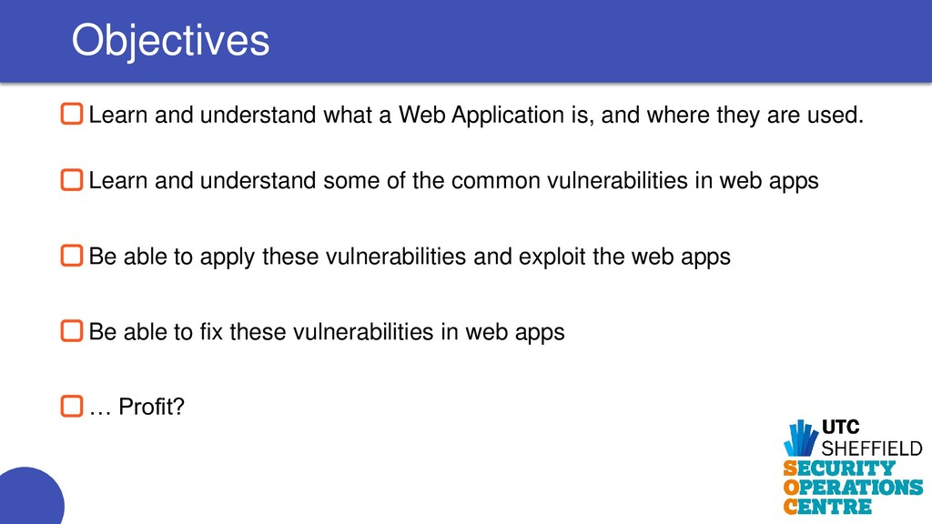 Learn and understand what a Web Application is,...