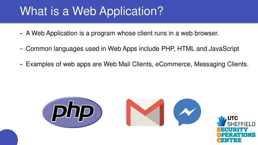 − A Web Application is a program whose client r...