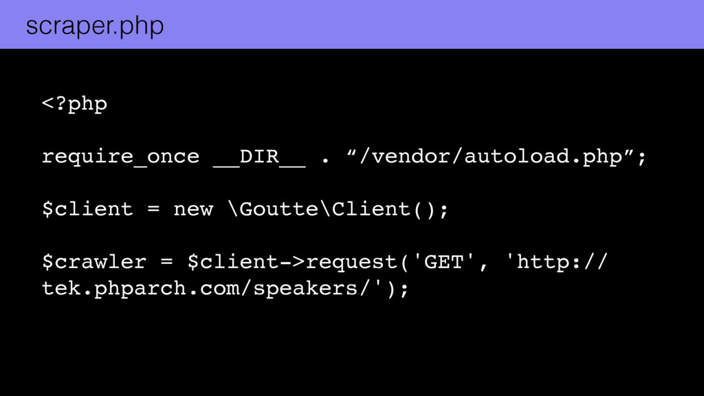 """<?php  require_once __DIR__ . """"/vendor/auto..."""