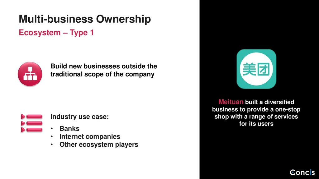 Industry use case: • Banks • Internet companies...