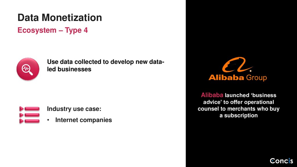 Industry use case: • Internet companies Data Mo...