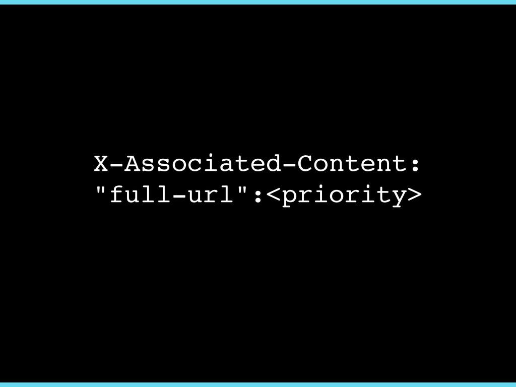 "X-Associated-Content: ""full-url"":<priority>"