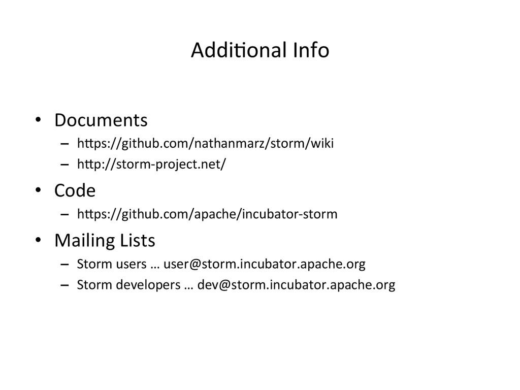 AddiIonal Info  • Documents  – hPps:...