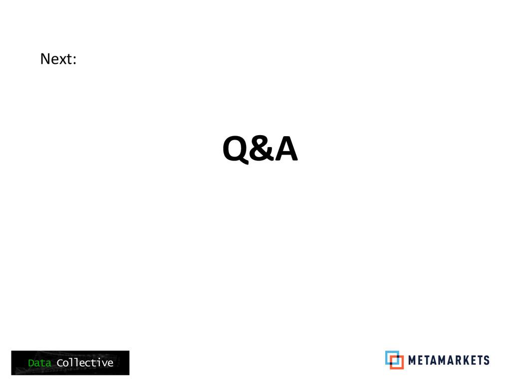 Q&A   Next: