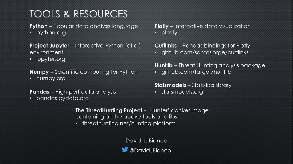 Python – Popular data analysis language • pytho...