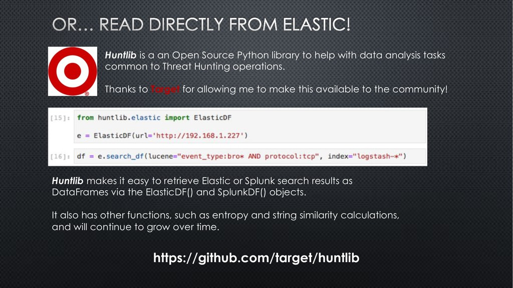 Huntlib is a an Open Source Python library to h...