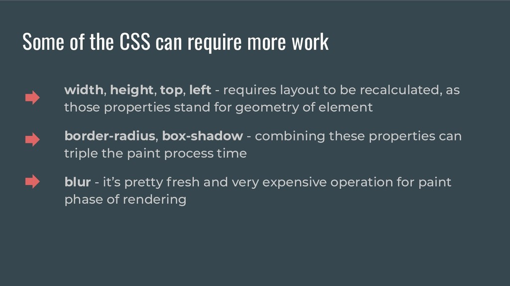 Some of the CSS can require more work width, he...