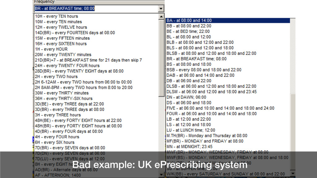 @benholliday #govdesign Bad example: UK ePrescr...