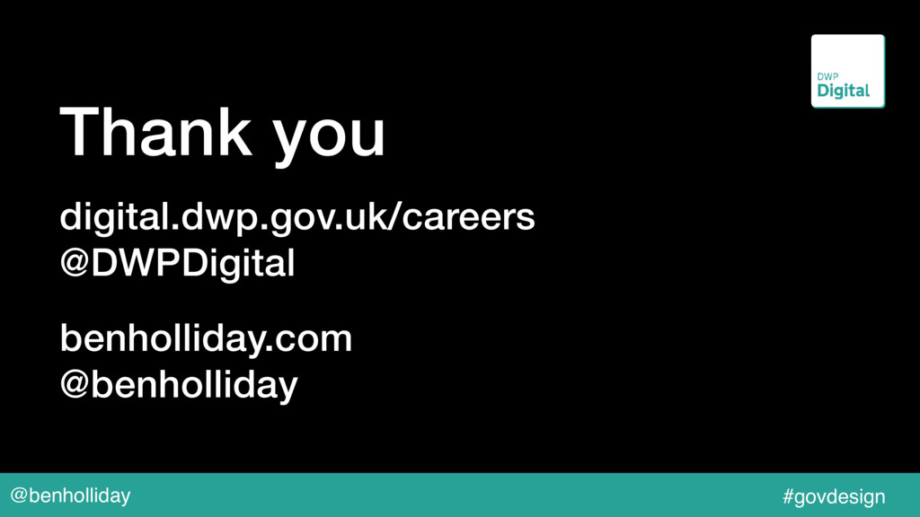 @benholliday #govdesign Thank you digital.dwp.g...