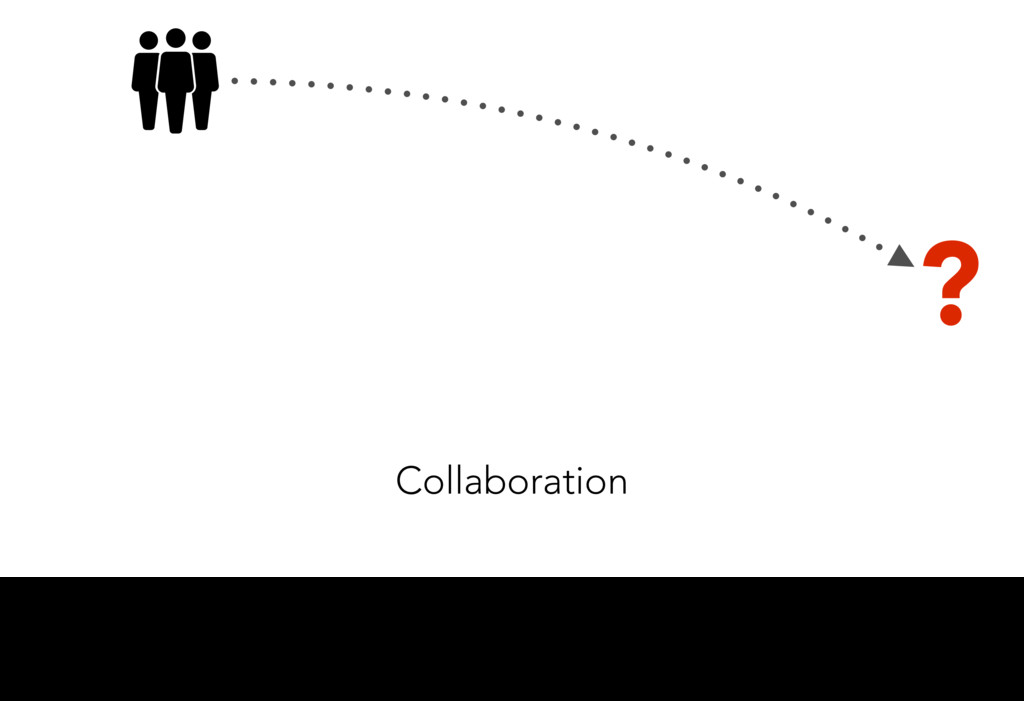 Collaboration ? First of all, the end users. Th...