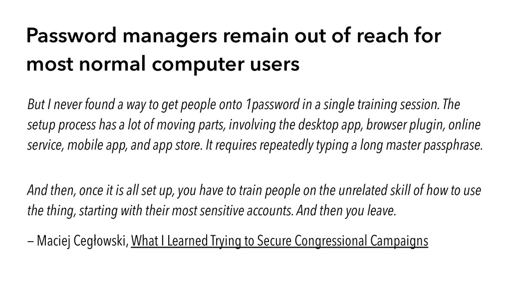 Password managers remain out of reach for most ...