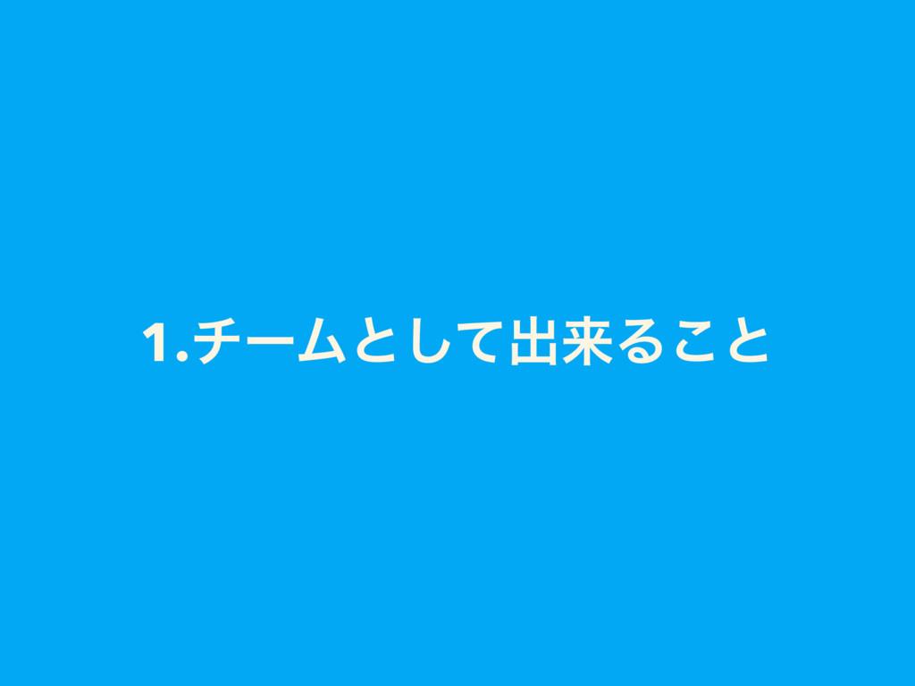 1.νʔϜͱͯ͠ग़དྷΔ͜ͱ