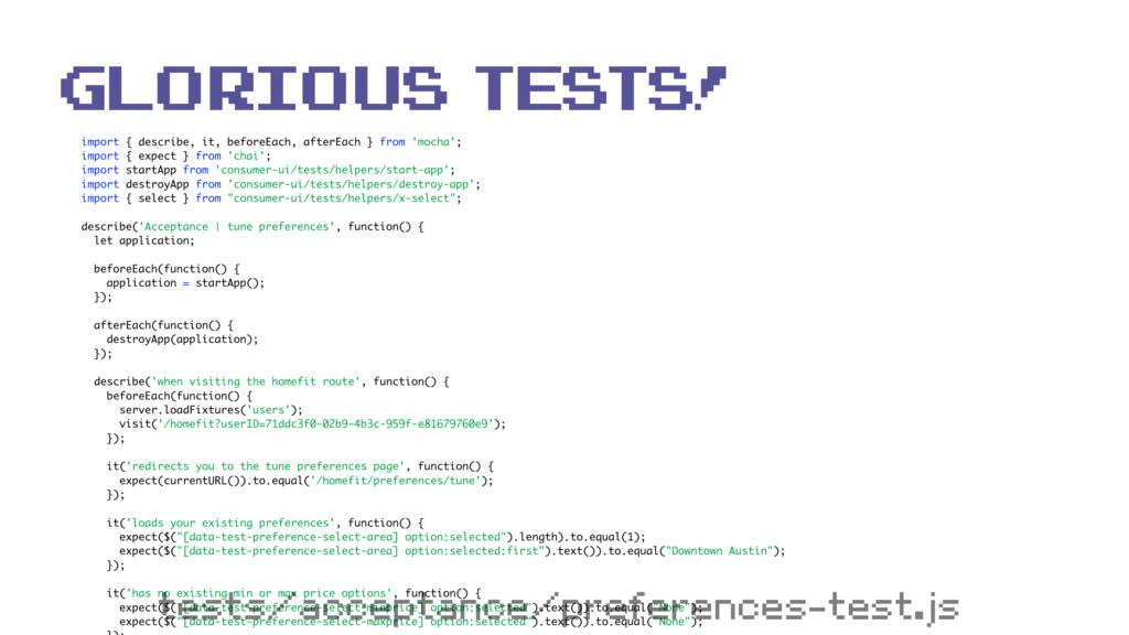 import { describe, it, beforeEach, afterEach } ...