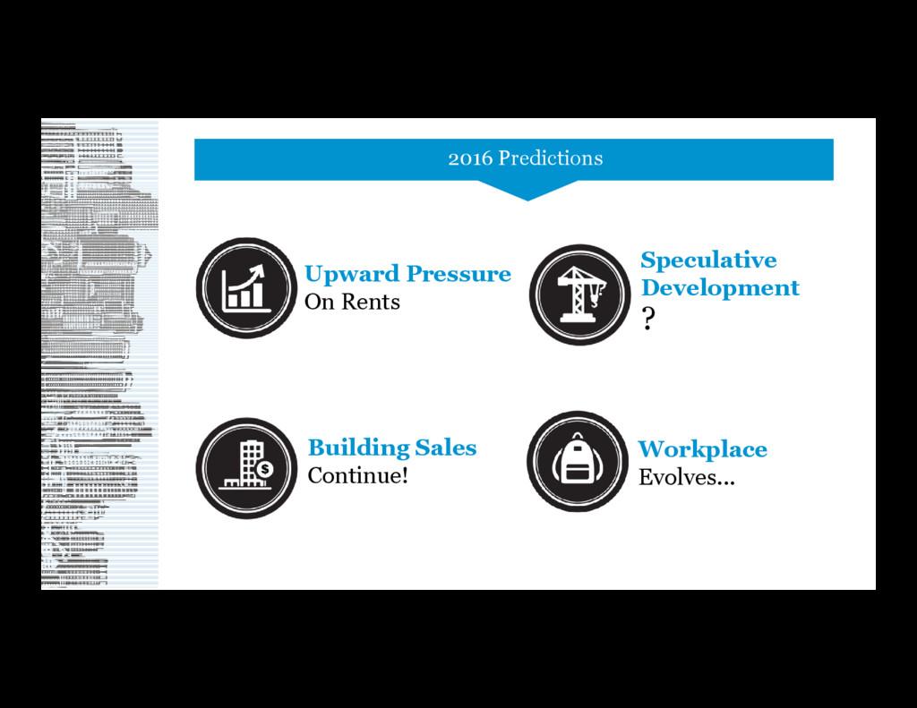 Upward Pressure On Rents Building Sales Continu...